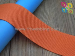 Hot Sell Nylon Fine Grooved Webbing for Backpack Strap pictures & photos