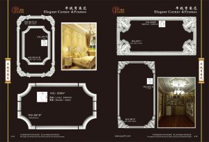 High Quality PU Decoration Photo and Mirror Cornice Frame pictures & photos