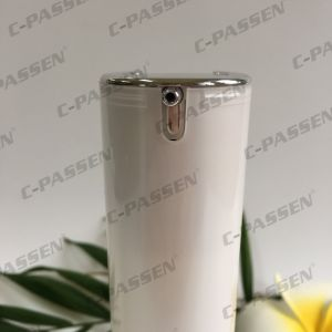 15/30/50ml Pearl White Acrylic Cream Bottle for Cosmetic Packaging (PPC-ALB-063) pictures & photos