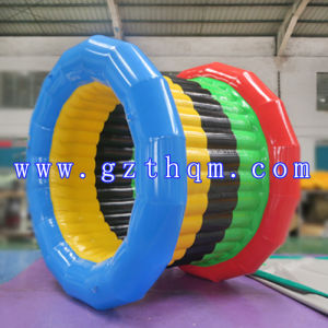 Inflatable Rolling Ball Walk on Water/Giant Inflatable Water Roll Ball pictures & photos