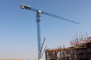 Qtz160 Type Topkit Tower Crane