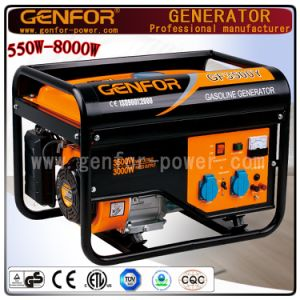 2kw-7kw Electric Start Portable Gasoline Power Generator with Ce, ISO9001 pictures & photos