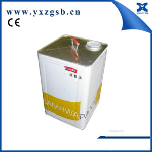 Automatic Big Rectangular Chemical Paint Tin Can Making Machine pictures & photos
