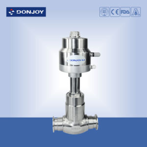 Ss 316 Stainless Steel Pneumatic Globe Valve with Il-Top Positioner pictures & photos
