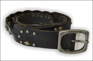 Lady′s Braided Genuine Leather Fashion Belt pictures & photos