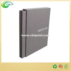 Debossing Cloth Fabric Cover Bound Book Printing (CKT-BK-744) pictures & photos