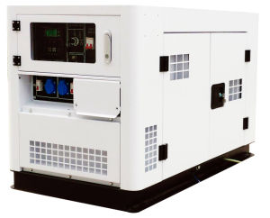 10kVA 3phase Silent Electric Diesel Generator Powered by Changchai EV80 (SDG15000SE)