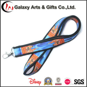 Sublimation Neoprene Single Custom Lanyard