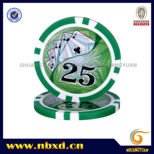 11.5g 2color Eight Stripe Sticker Chip, Sy-D17-1 pictures & photos