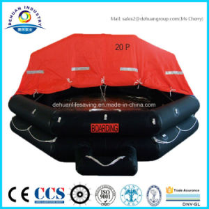 Throw-Over Type 20 Person Inflatable Liferaft