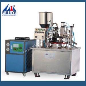 Flk Ce Toothpaste Plastic Tube Filling and Sealing Machine pictures & photos