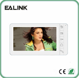 7 Inch Image Recording Video Door Phone Intercom pictures & photos