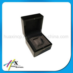 Luxury Cotton Lining Single Watch Packaging Wooden Gift Box pictures & photos