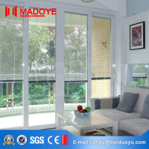 European Style Electric Aluminum Louvers Window with Tempered Glass pictures & photos