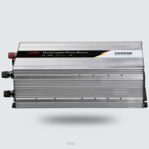 2000W 12V/24V Pure Sine Wave Power Inverter with Battery Charger pictures & photos