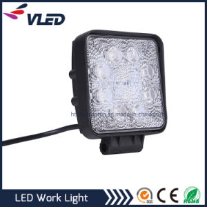 Wholesale 24W Spot/Flood Beam 12V Waterproof Car Lighting Work Light LED pictures & photos