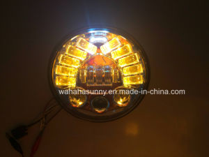 "Hot Sale 5.75"" Round 50W Round LED Headlight for Motorcycle pictures & photos"