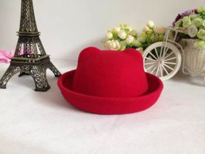 Popular Cat Ears Hat for Kids Wool Children Hat pictures & photos