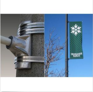"""Street Pole Banner Bracket 24"""" Hardware Only for Light Pole Advertising Prints pictures & photos"""