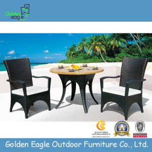Garden Furniture Synthetic Rattan Chairs and Table
