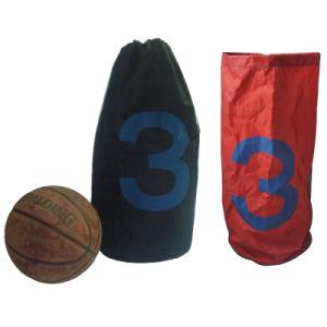 Polyester Nylon Basketball Drawstring Bag for Boys pictures & photos