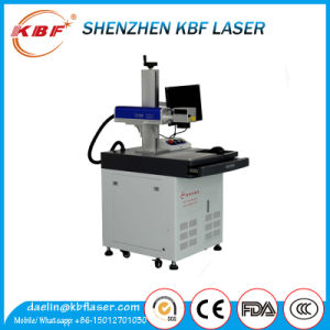 20W FDA Standard Aluminum Alloy Workbench Metal Fiber Table Laser Marking Machine pictures & photos