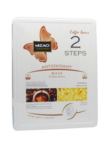 Coffee Beans Whitening and Hydrating Non-Woven Face and Neck Mask pictures & photos
