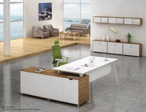 White Desktop Wholesale Manager Office Furniture Desk (NS-ND035) pictures & photos