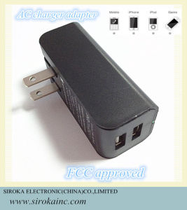 High Speed Power 2 Dual USB Home Charger pictures & photos