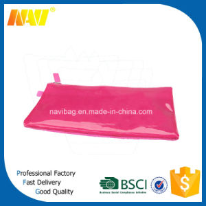 PVC Leather Plain Pencil Bag