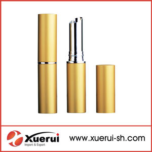 Empty Silver Slim Cosmetic Lipstick Tube pictures & photos