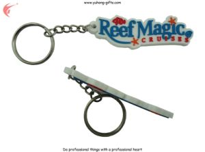 2015 Rubber Key Chain Key Ring for Promotion (YH-KC103) pictures & photos