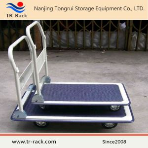 Plastic Flatform Hand Truck for Light Loading pictures & photos