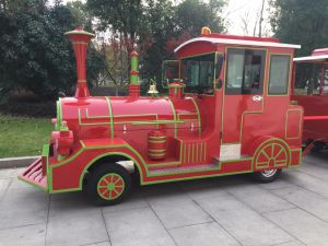 Modern Diesel Powered Tourist Trackless Train pictures & photos