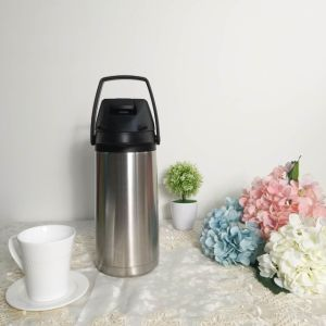 Insulated Vacuum Airpot Thermos Flask with Lever, Mini Airpot/Lever Action Vacuum Airpot, Stainless Steel, Mini Thermos pictures & photos