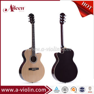 "[Winzz] Hot Sale 40"" Cutaway Acoustic Guitar (AF238CE) pictures & photos"