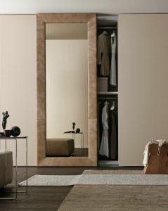 Sliding Wardrobe with Mirror pictures & photos