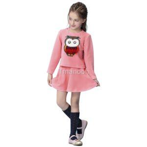Girl Dress Children Clothing Girl Skirt Children Dress Clothing Mcs16001