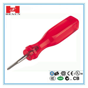High Quality Plastic Handle Cross Screwdriver pictures & photos