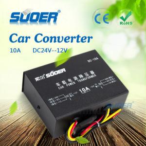 Suoer Power Converter DC 24V to 12V Car Power Converter 10A Electronic Converter (DC-10A) pictures & photos