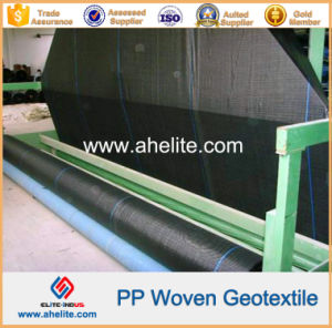 PP Pet Polypropylene Polyester Woven Geotextiles pictures & photos