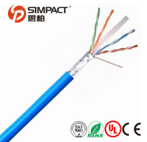UL/Ce/ RoHS/ISO Listed FTP CAT6 Network Cable pictures & photos