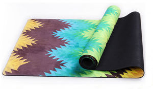 2in1 Yoga Mat Ideal for Bikram, Hot Yoga, Ashtanga, Pilates, or Sweaty Practice. pictures & photos