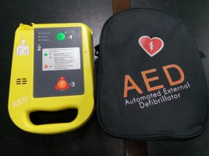 Medical Equipment Supply Portable Automated External Defibrillator with ECG pictures & photos