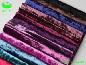 Warp Knitting Ice Velvet Fabric (BS2104) pictures & photos