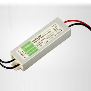 12V 10W Constant Voltage Waterproof Power Supply pictures & photos