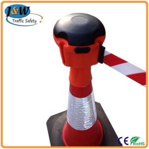 High Quality Standard 700mm Plastic Traffic Cone Topper for Sale pictures & photos