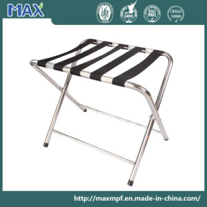 Stainless Steel Folding Luggage Tray Stands pictures & photos