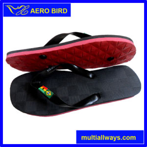 PE Slipper Sandal Sli with Embossed Logo on The Straps pictures & photos
