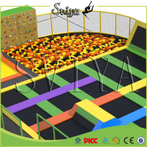 High Quality Attractive Multi Sport Trampoline Park with Climbing Wall pictures & photos
